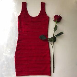 🌹 Red Bandage Bodycon Dress 🌹